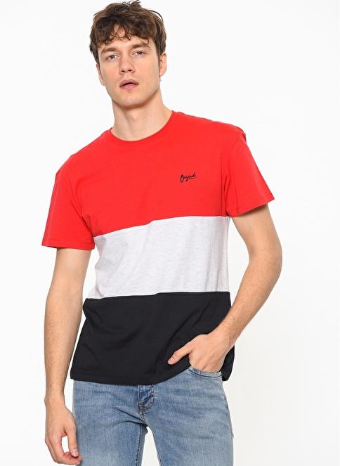 Jack & Jones Polo Yaka Tişört Kırmızı